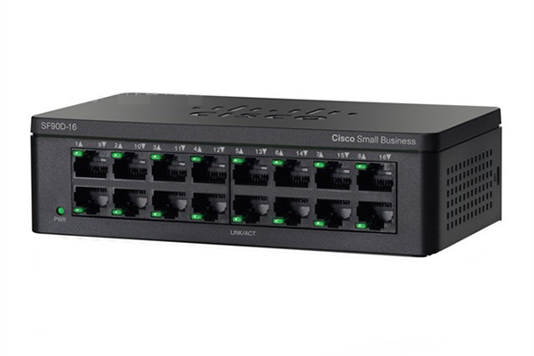 Switch CISCO SF95D-16 16-port 10/100Mbps SF95D-16-AS