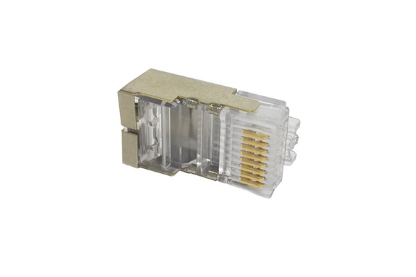 COMMSCOPE/AMP Category 3 Modular Plug, Shielded, RJ45, 26-24 AWG, Solid 5-569530-3