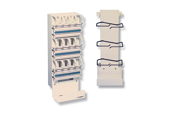 AMP Vertical Cable Management Frame for 110XC Distribution Frame Kit, 300-Pair 569851-1