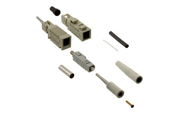 AMP LightCrimp Plus Connector, Duplex SC, XG MM 50/125µm 6588292-2