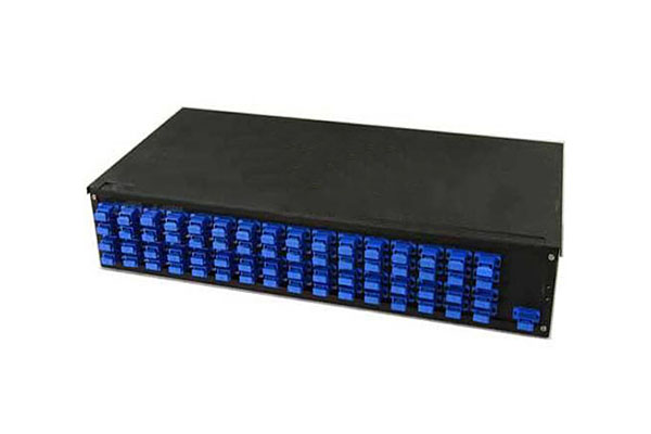 AMP Fiber Optic Rack Mount Patch Enclosure, 1U, Duplex SC, 24-Fiber, MM 4-1206138-4