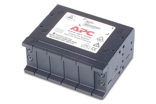 Bộ giá đỡ 4 modules chống sét APC PTEL2R, PNETR6 1U PRM4