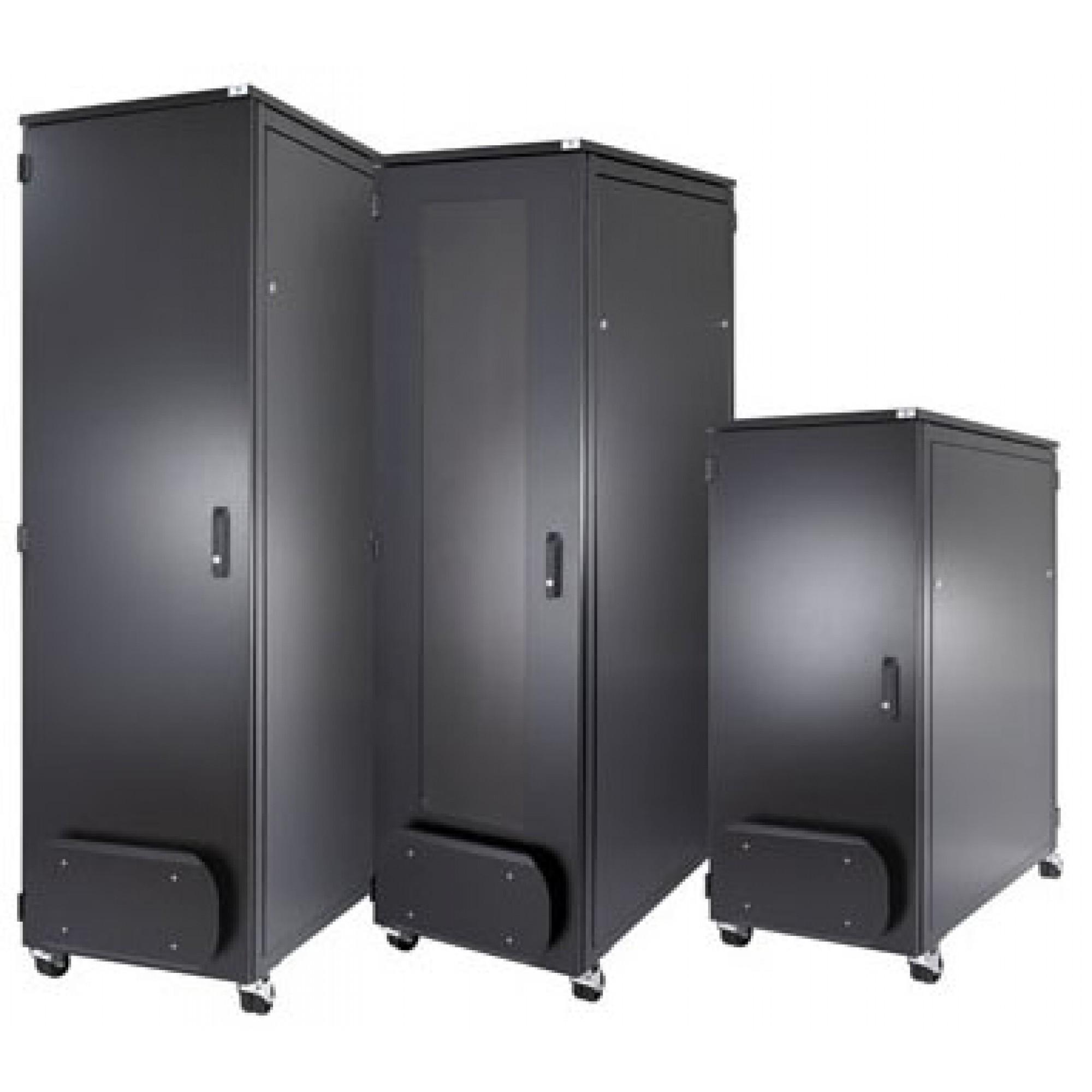 ABNET Cabinet 27U-1000, gồm 2 quạt, 1 ổ cắm 6 Outle 27U1000