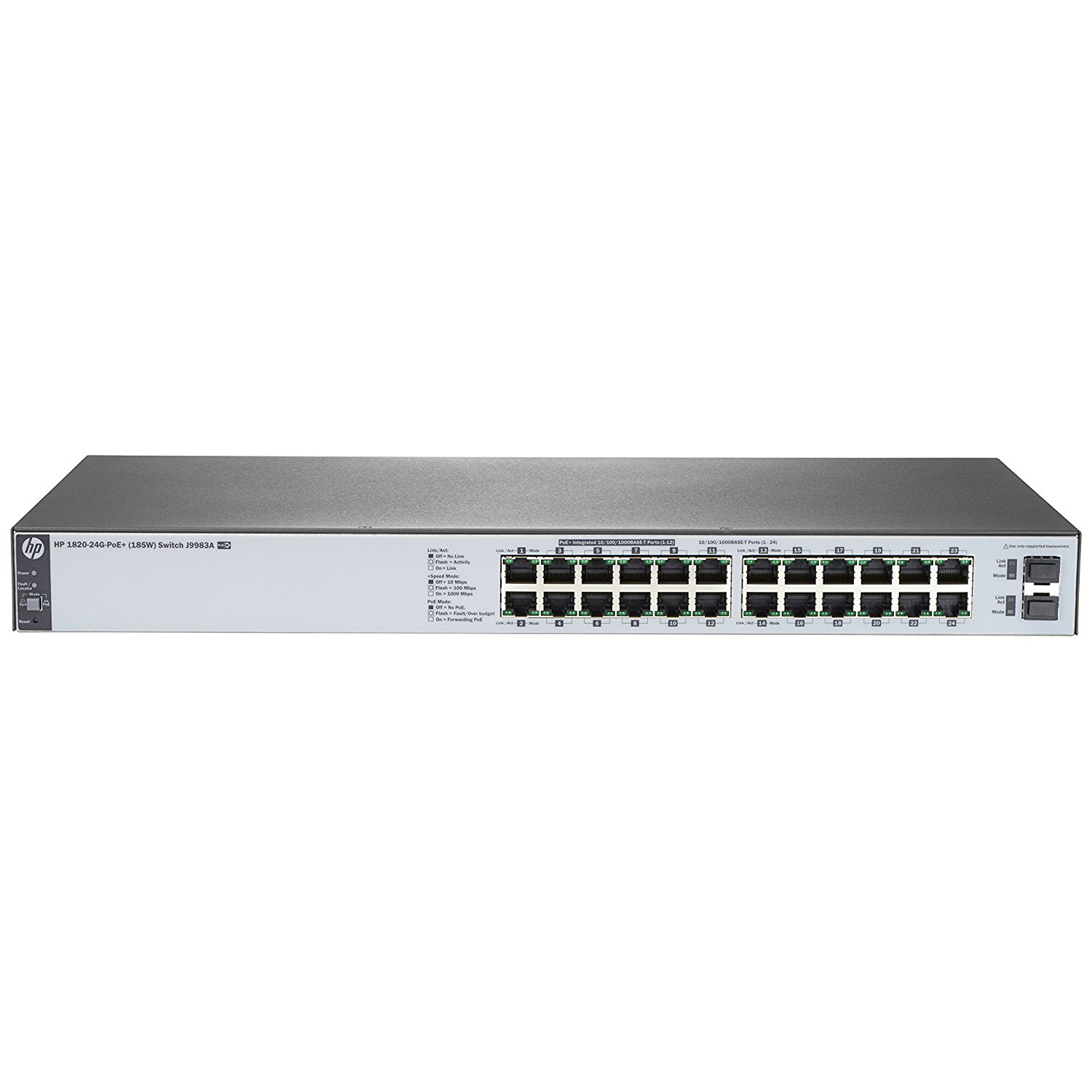 Thiết bị chuyển mạch HPE J9983A OfficeConnect 1820 24G PoE+ (185W) Switch