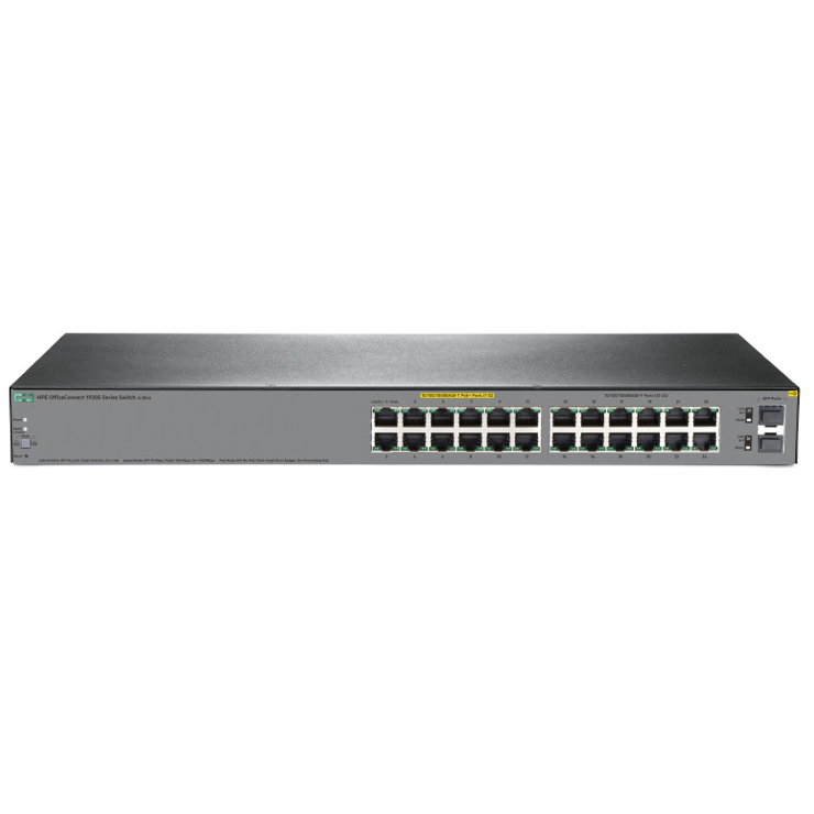 JL384A Switch HPE OfficeConnect 1920S 24 Port 1G 2SFP PPoE+ 185W