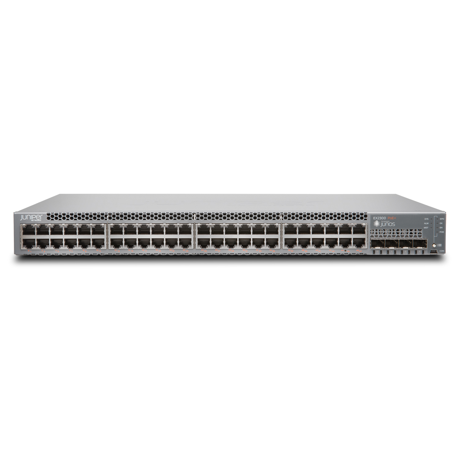 Switch Juniper 48 Port Data, 4 SFP+ Uplink Slot EX2300-48T