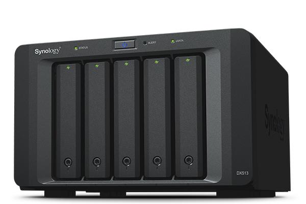 Thiết bị lưu trữ mạng NAS Synology Expansion Unit DX513