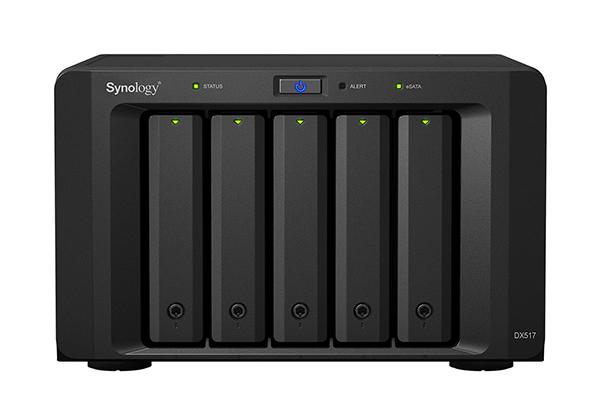 Thiết bị lưu trữ mạng NAS Synology Expansion Unit DX517